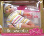 Little Sweetie 30cm-es baba, 16 féle hanggal