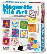 4M mágneses csempe művész készlet