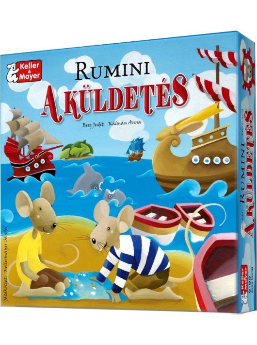 Rumini, a küldetés társasjáték