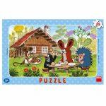 Kisvakond látogatóban 15 darabos puzzle