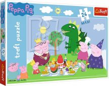 Peppa Malac MAXI puzzle - Malac ünnep 24 db