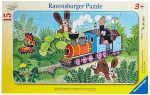 Kisvakond vonatozik 15 darabos puzzle