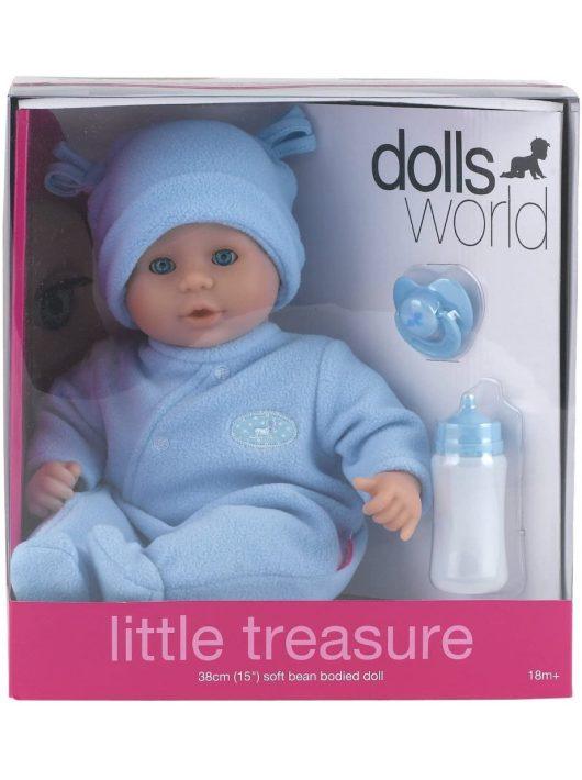 Little Treasure babzsákos baba kiegészítőkkel - 38 cm