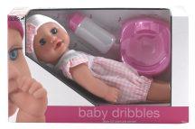Baby Dribbles pisilő baba kiegészítőkkel - 30 cm