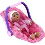 Isabella alvó baba babahordozóval - 30 cm