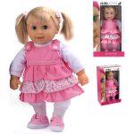 Emma puha testű fésülhető baba - 41 cm, többféle