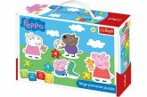 Baby puzzle táskában Peppa Pig