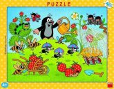 Kisvakond szamócázik 40 darabos puzzle