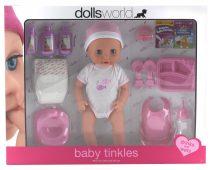 Baby Tinkles baba itatható és pisilő funkcióval 38 cm nagy szett
