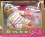 Little Sweetie 30cm-es baba, 16 féle hanggal