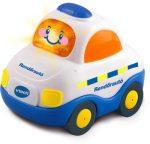 Toot-Toot Kisautók- Rendőr autó / magyarul beszélő