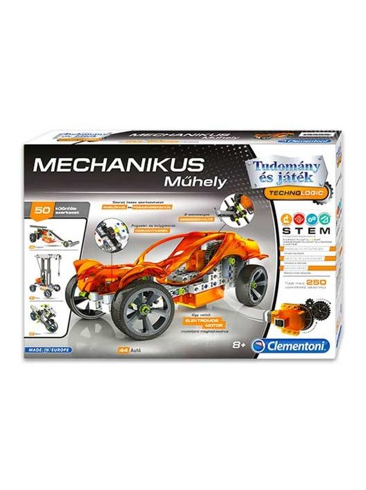 Mechanikus műhely autószett