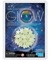 4M sötétben világító mini csillag készlet
