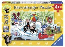 Kisvakond nyaral 2 x 24 darabos puzzle