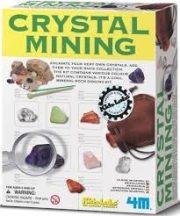 4M kristály bányász készlet