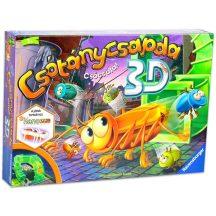 Csótánycsapda 3D társasjáték