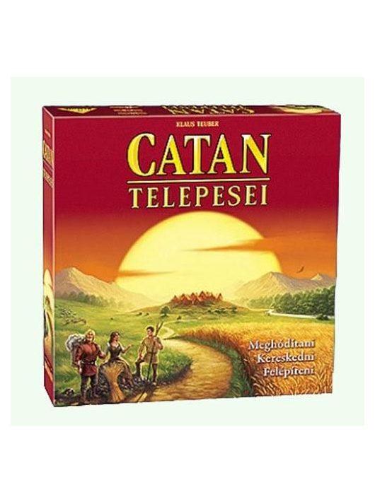 Catan telepesei stratégiai társasjáték