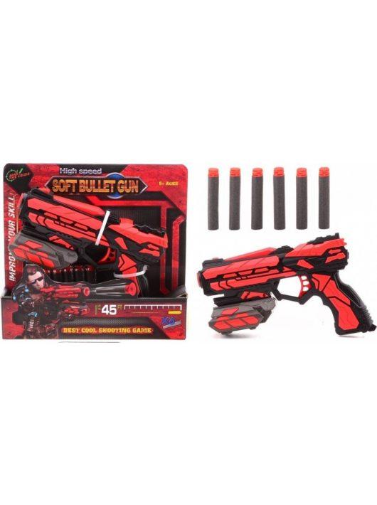 Serve and Protect szivacslövő pisztoly - 18 cm