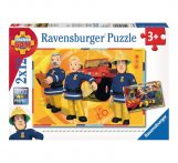 Sam a tűzoltó - Puzzle 2x12 db