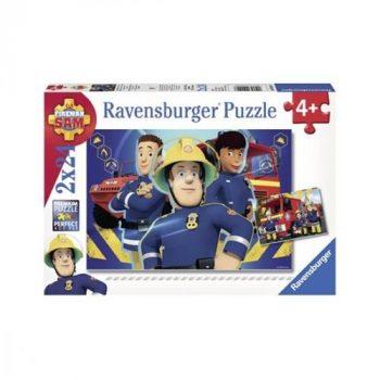 Sam a tűzoltó - Puzzle 2x24 db