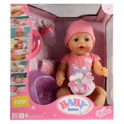 Baby Born interaktív lány baba