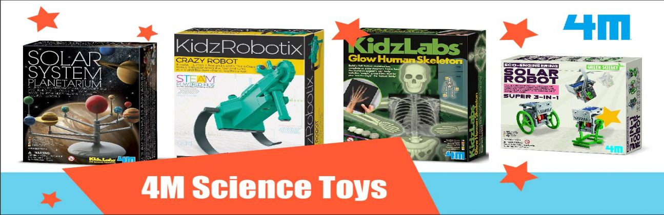 4M tudományos játék készlet